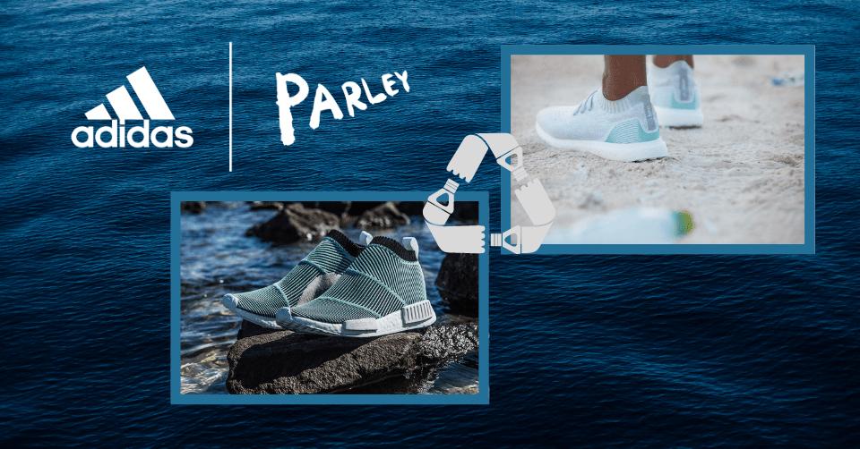 Sustainability adidas x Parley