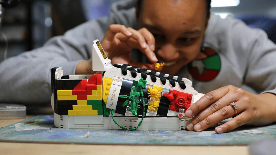 adidas Superstar x LEGO