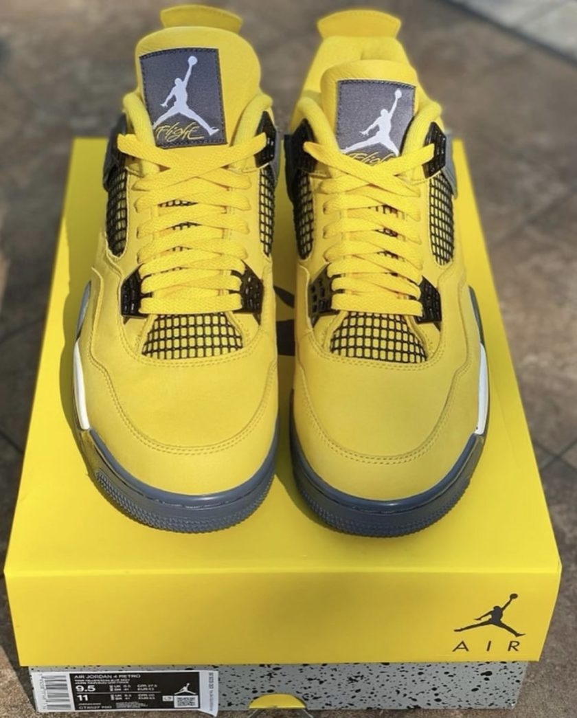 Air Jordan 4 'Lightning' 2021