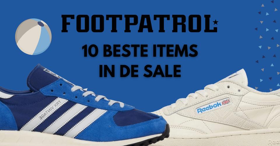 Foot Patrol sale