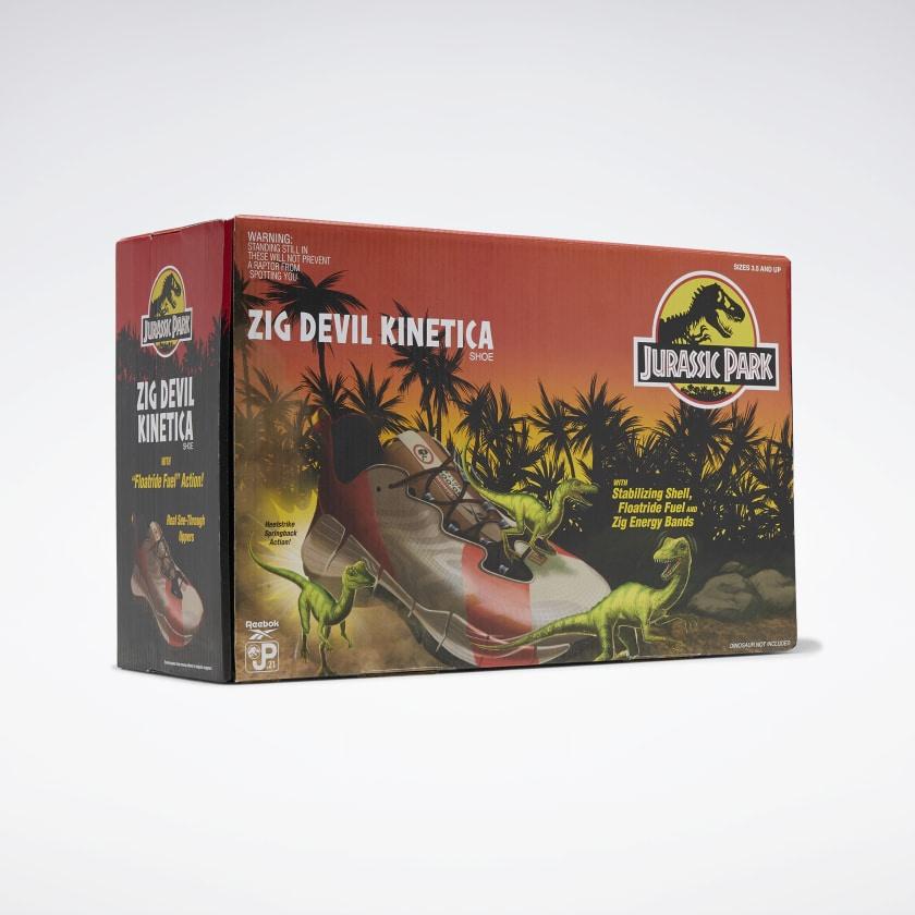 Reebok Jurassic Park Zig Devil Kinetica