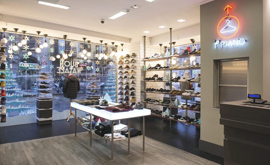 sneakerwinkels milaan size