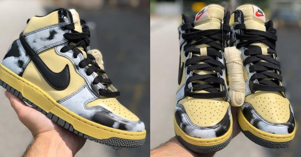 Nike Dunk High 'Acid Wash'
