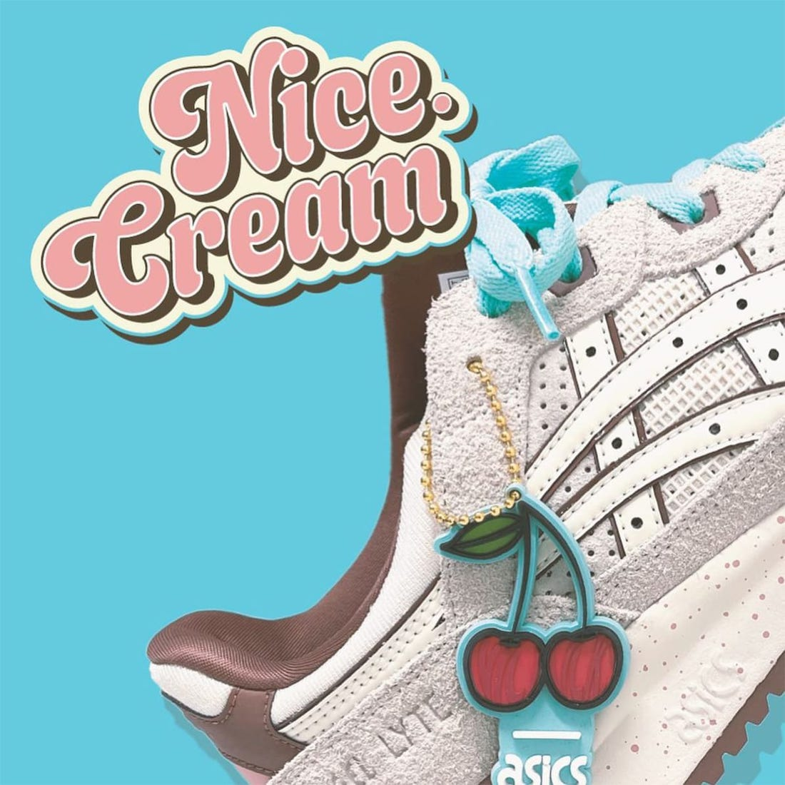 Nice Kicks x Asics GEL-LYTE III 'Nice Cream'
