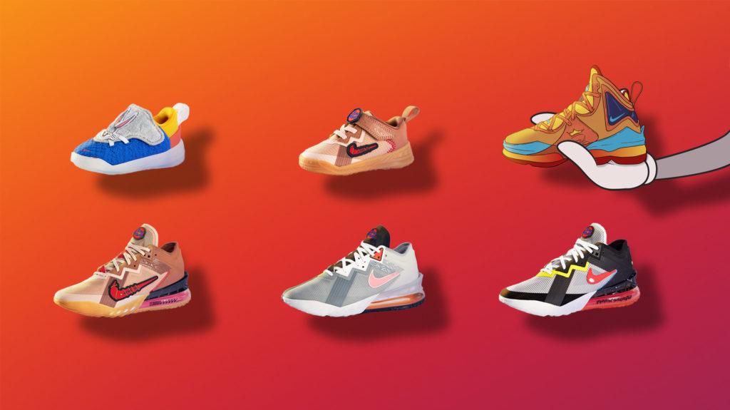 Space Jam sneaker collectie