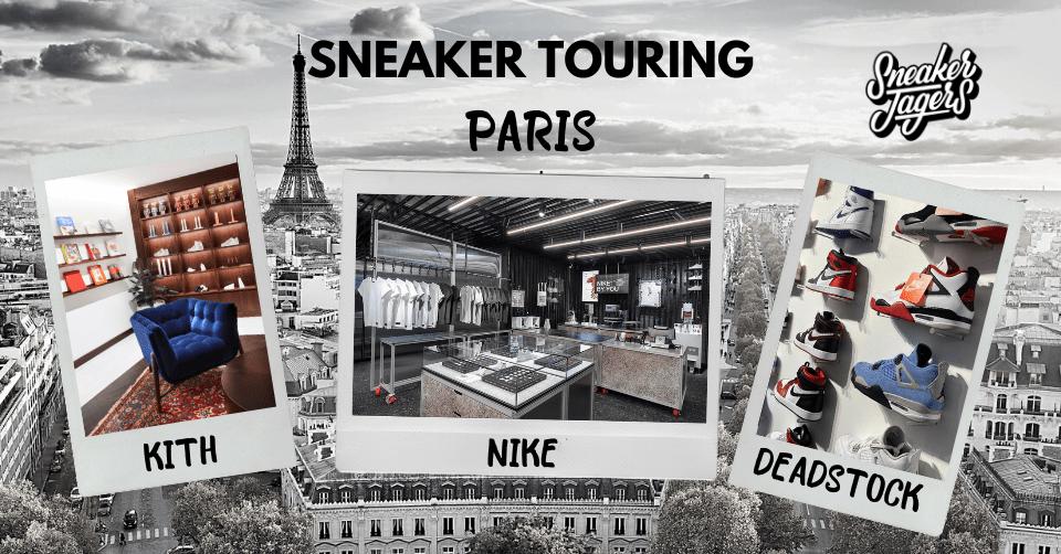 Sneakerwinkels Parijs