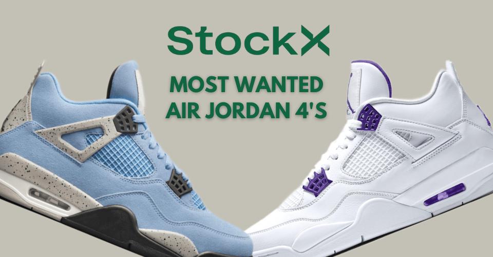 Air Jordan 4 StockX