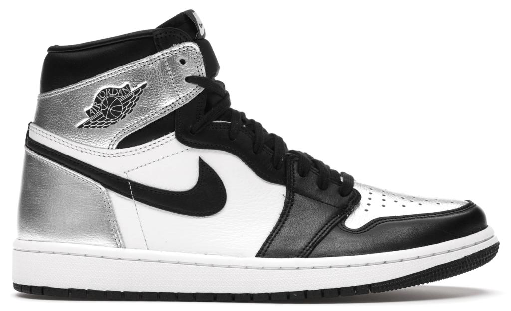 Jordan 1 Retro High 'Silver Toe'