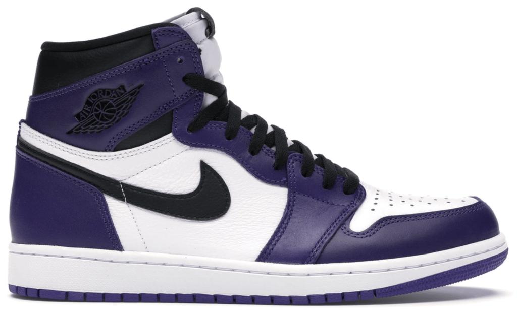 Jordan 1 Retro High 'court purple'