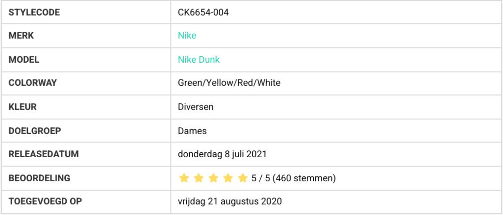 Bestverkochte sneakers CK6654-004
