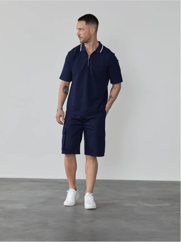 Dan Fox Apparel broek en shirt uit de About You zomer sale