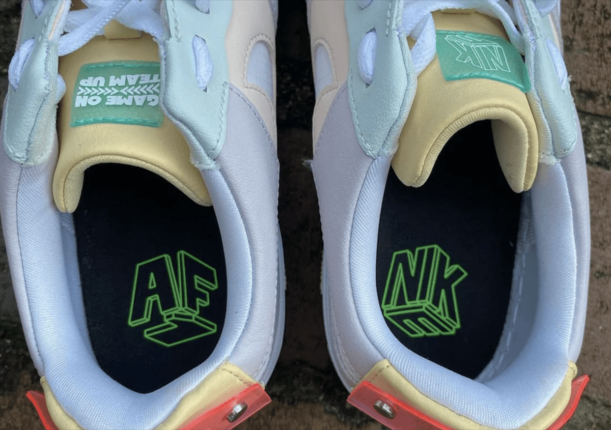 LPL x Nike Air Force 1 Pixel 'Have A Good Game'