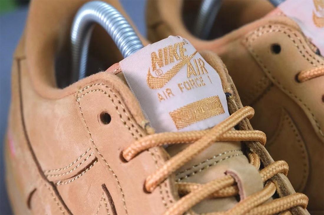 Supreme x Nike Air Force 1 Low Flax