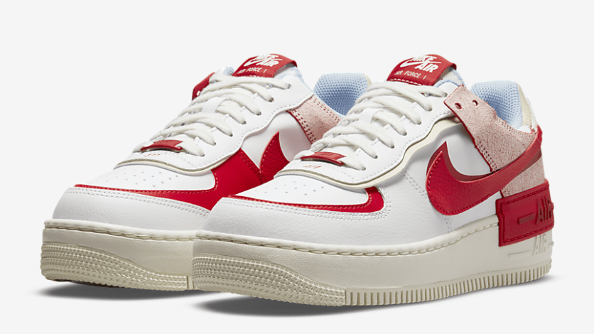 Nike Air Force 1 Shadow 'University Red'