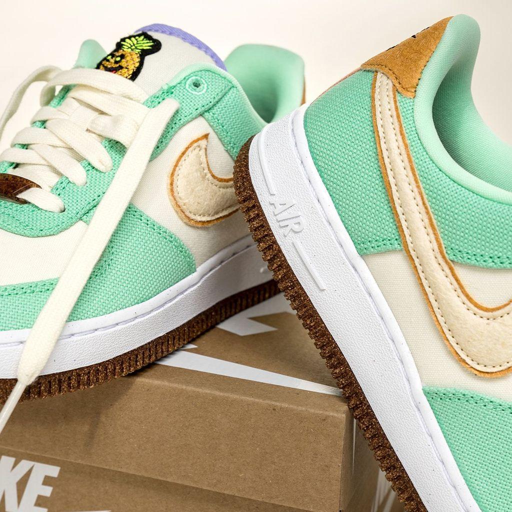 Nike Air Force 1 Happy Pineapple 'Green Glow'