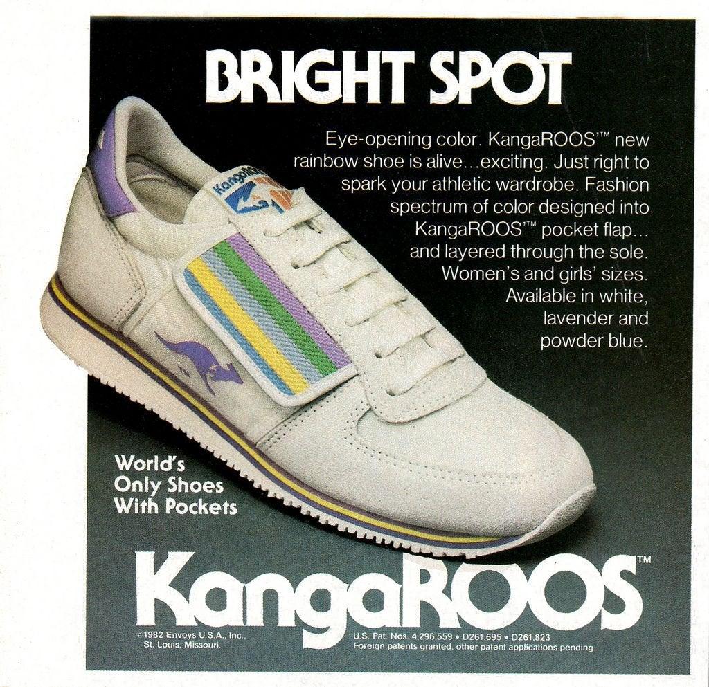 KangaROOS pocket voorbeeld uit een oude ad