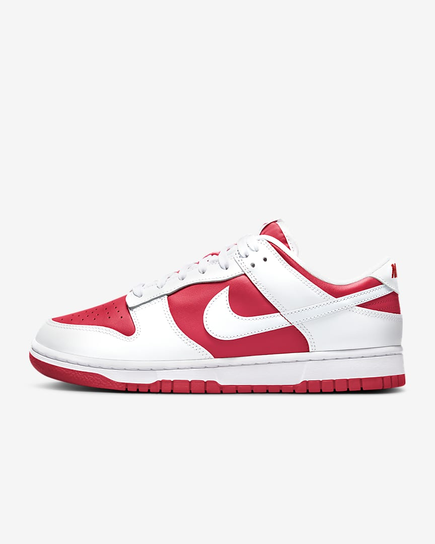 Nike Dunk Low Retro 'University Red'