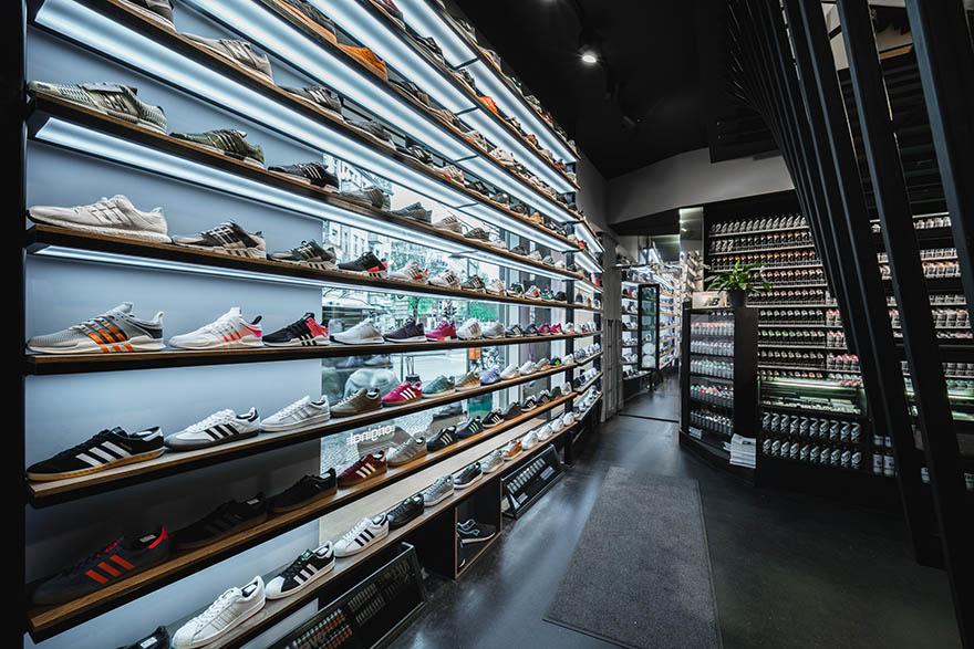 Overkill sneakerwinkels berlijn