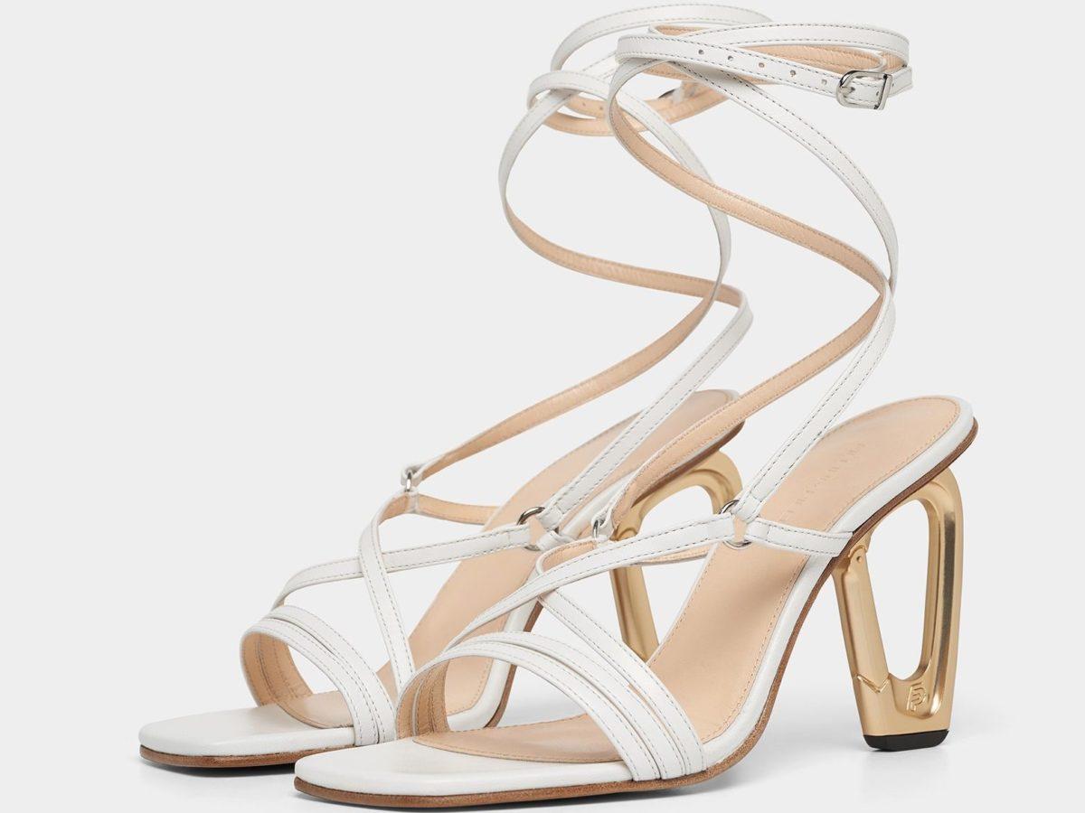 Filling Pieces Innovation Footwear Carabiner Heel White