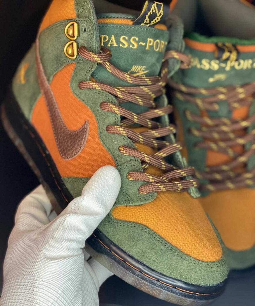PASS~PORT x Nike SB Dunk High