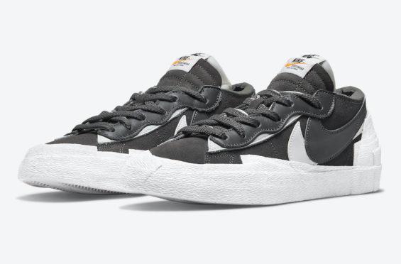 Sacai x Nike Blazer Low Iron Grey