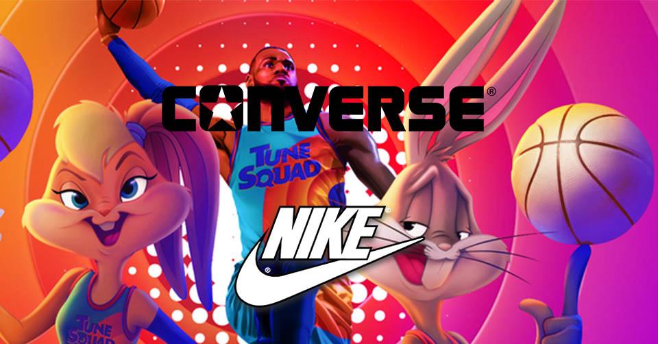 Space Jam Nike en Converse