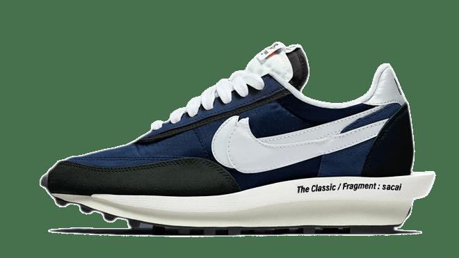 hottest sneaker release sacai x fragment x nike ldwaffle blue