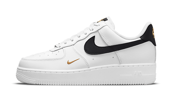 Nike WMNS Air Force 1 '07 Essential 'Black Swoosh'