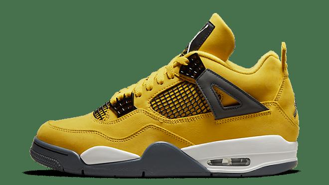 hottest sneaker releases air jordan 4 retro 'lightning'