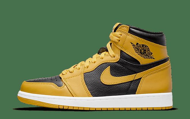 Air Jordan 1 high black yellow