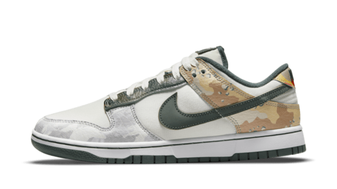 hottest sneaker releases nike dunk low 'multi camo'