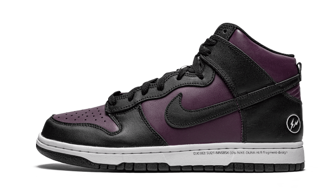 Fragment Design x Nike Dunk High 'Beijing'
