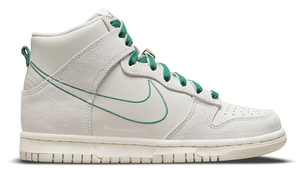 Nike Dunk High StockX First Use 'Sail'