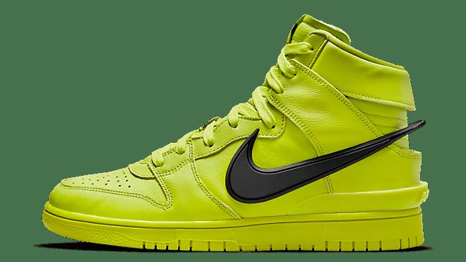 AMBUSH x Nike Dunk High StockX 'Flash Lime'