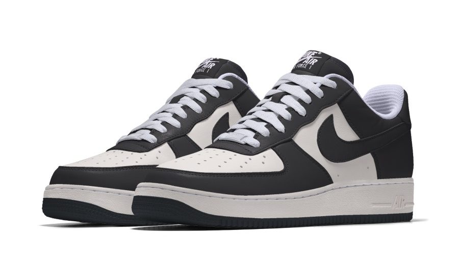 Nike Air Force 1 By You 'Panda'