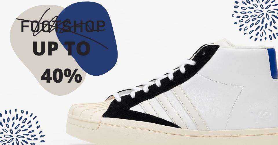 40% korting Footshop