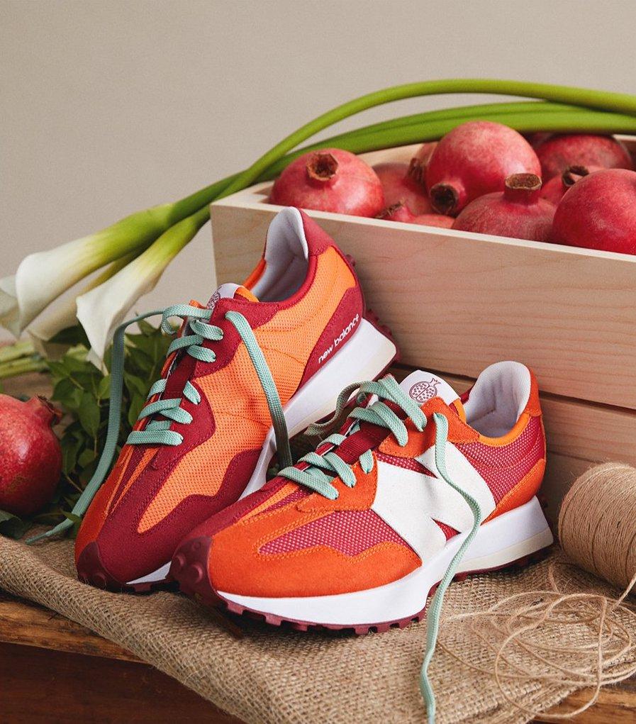 New Balance 327 'Pomegranate'