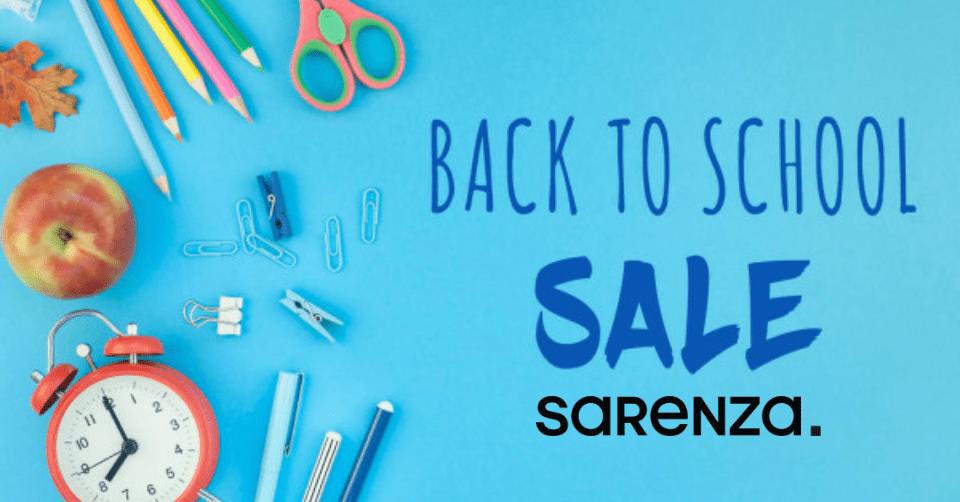 Back To School Sarenza