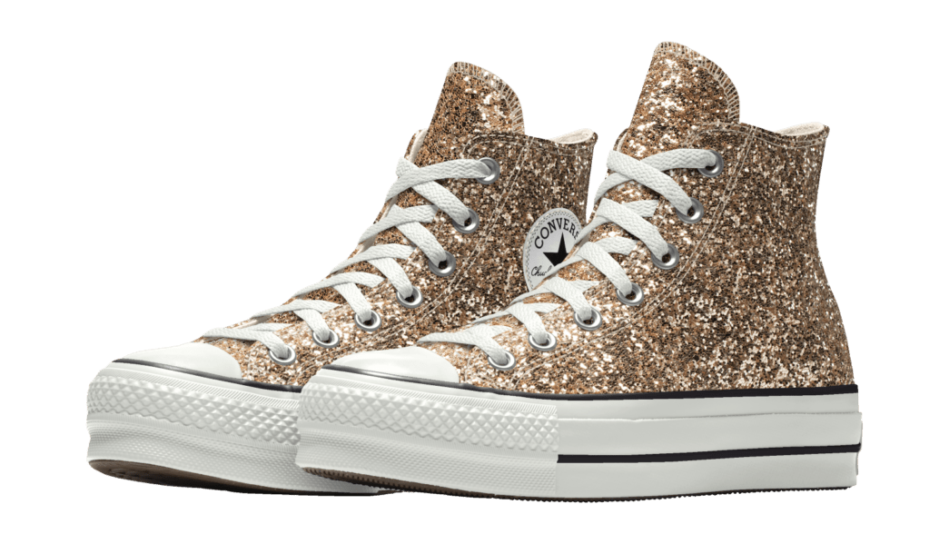 Converse Glitter Sneaker Platform Chuck Taylor All Star High Top