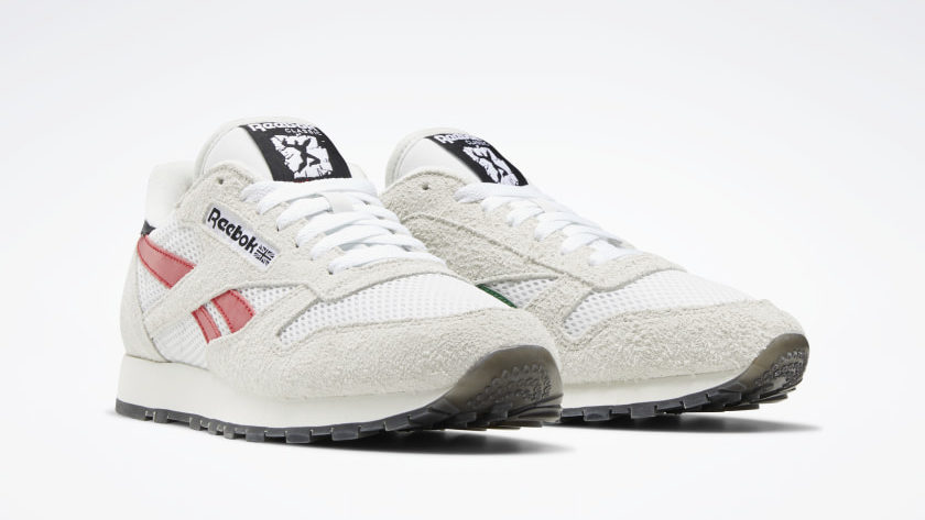 Reebok Human Rights Now Classic Leather wit