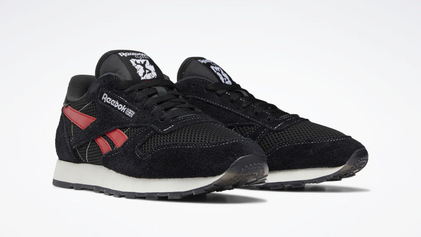 Reebok Human Rights Now Classic Leather zwart