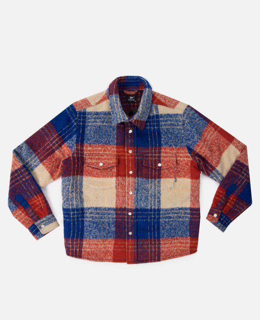 Patta Wool Check Overshirt
