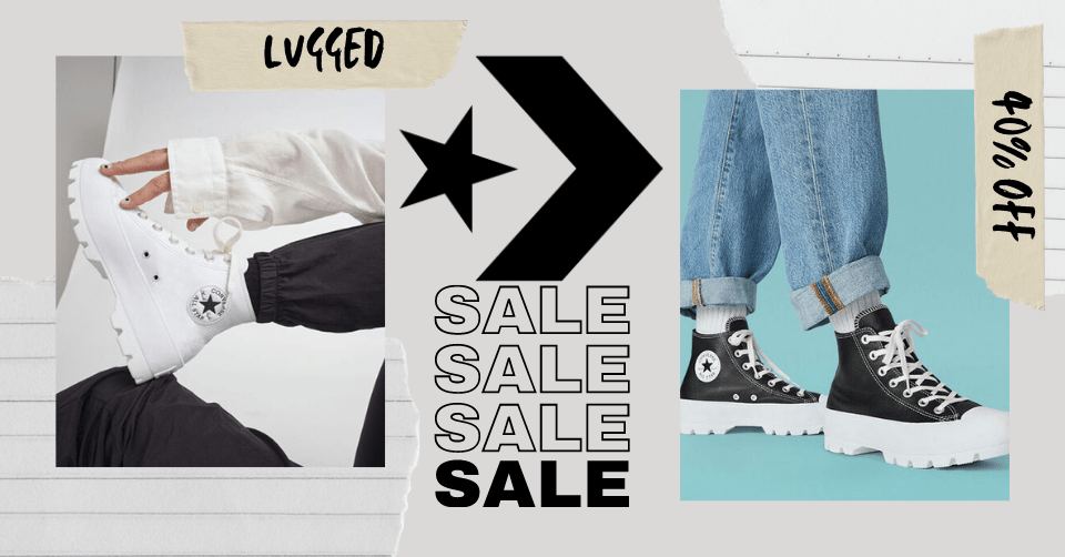 Converse All Star Lugged sale