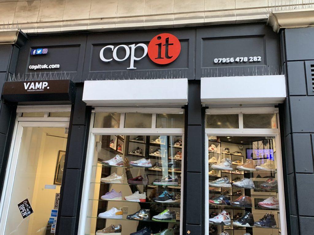 Sneakerwinkels Londen Copit