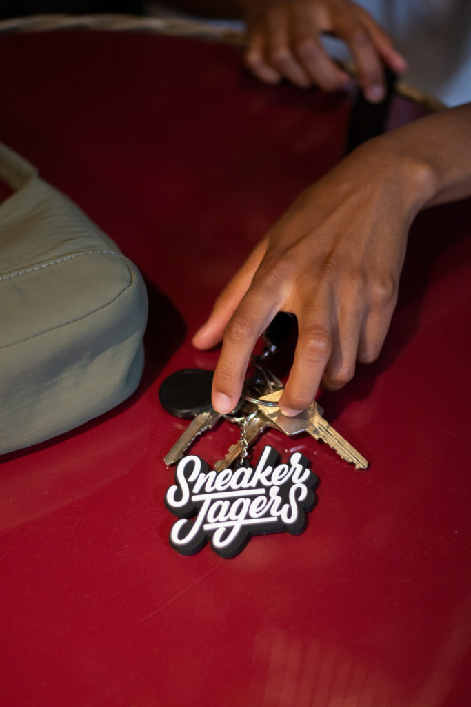 Sneakerjagers sleutelhanger
