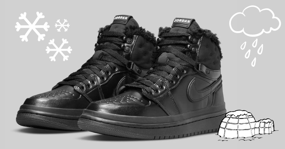 De Air Jordan 1 'Acclimate' maakt je klaar voor de winter