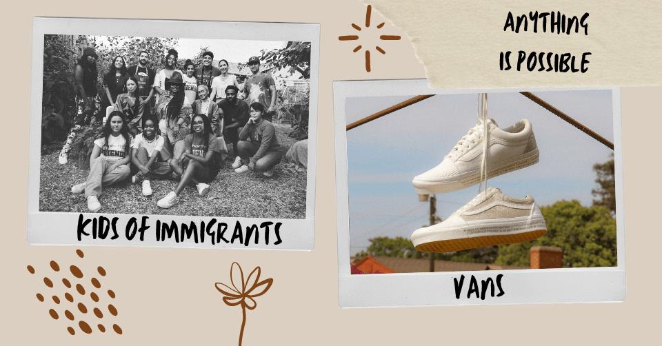 Kids of Immigrants x Vans