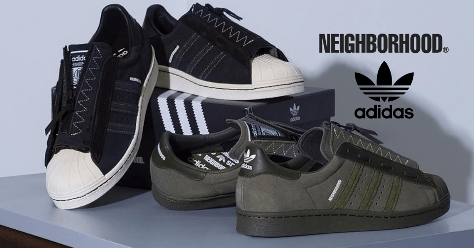NEIGHBORHOOD x adidas Superstar