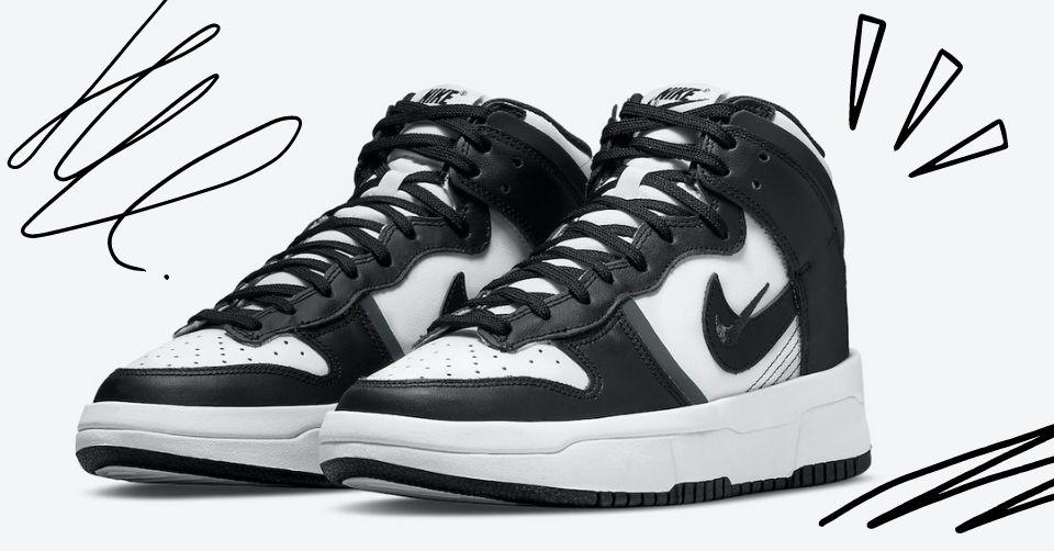 De Nike Dunk High Rebel is speciaal ontworpen  dames