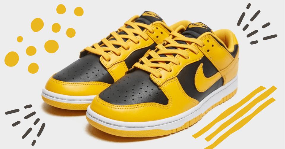 Nike Dunk Low 'Goldenrod'